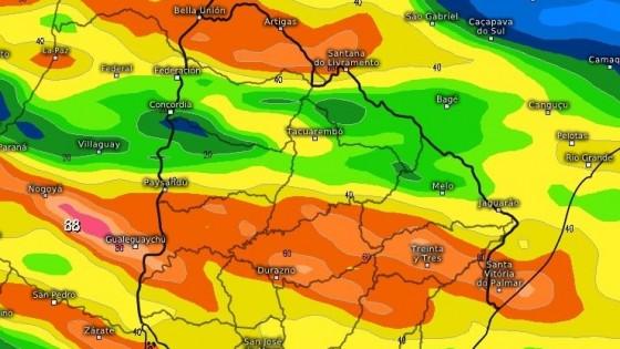 M. Bidegain: ''En el cierre de la semana se esperan lluvias por encima de los 60 milímetros'' — Clima — Dinámica Rural   El Espectador 810