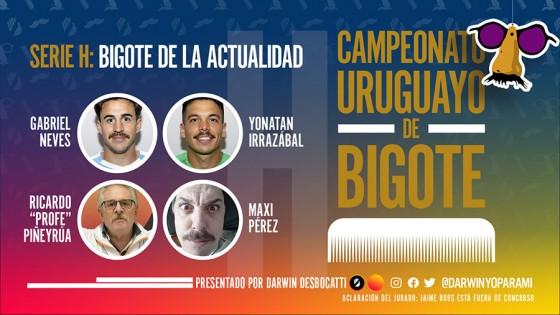 ¡Maxigote da vuelta el Campeonato Uruguayo de Bigote! — El mostrador — Bien Igual | El Espectador 810