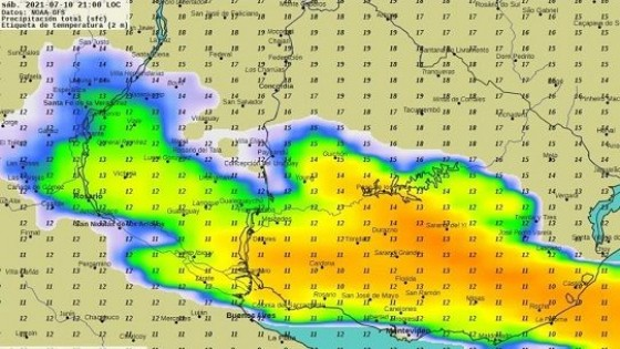 G. Labrador: Las lluvias y bajas temperaturas ''nos dan una tregua hasta el fin de semana'' — Clima — Dinámica Rural   El Espectador 810