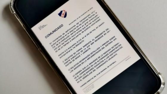 La semana del dirigente: Darwin intenta saber qué dice el comunicado de Nacional — Darwin - Columna Deportiva — No Toquen Nada | El Espectador 810