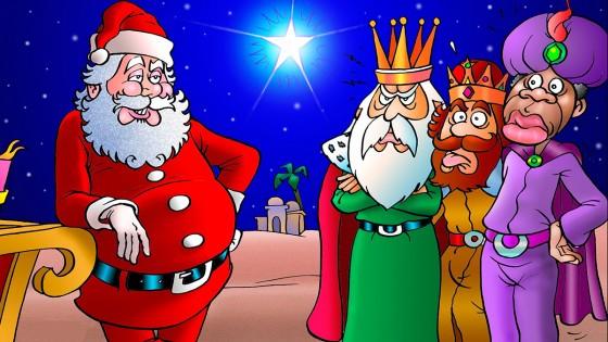 Papa Noel, Melchor, Gaspar, Baltasar, Dios y nosotros — El mostrador — Bien Igual | El Espectador 810