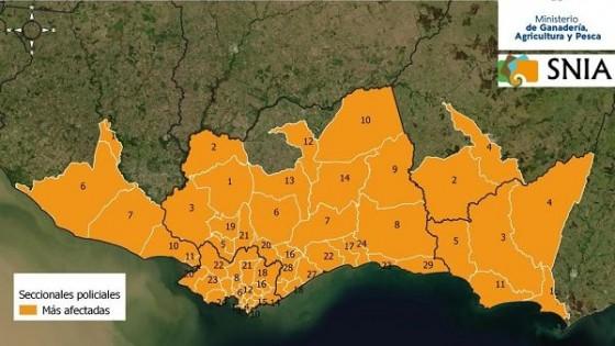 Emergencia Agropecuaria: Se destinarán unos 8 millones de dólares para atender las zonas afectadas por la sequía — Economía — Dinámica Rural | El Espectador 810