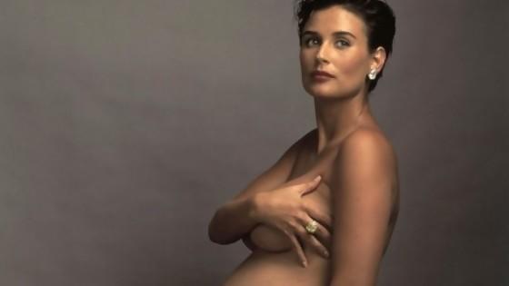 El desnudo de Demi Moore embarazada y por qué generó una revolución — Leo Barizzoni — No Toquen Nada | El Espectador 810