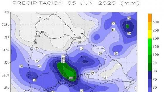 Clima: Es esperable lluvias promedio de entre 30 y 40 mm en las próximas dos jornadas — Audios — Dinámica Rural | El Espectador 810