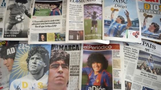 Melodramatón por la muerte de Maradona y un libro para empoderarse a la hora de la alimentación — NTN Concentrado — No Toquen Nada | El Espectador 810