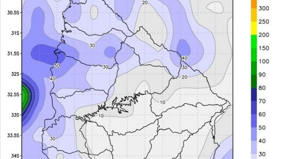 Se esperan lluvias escasas para viernes y sábado —  Clima — Dinámica Rural   El Espectador 810