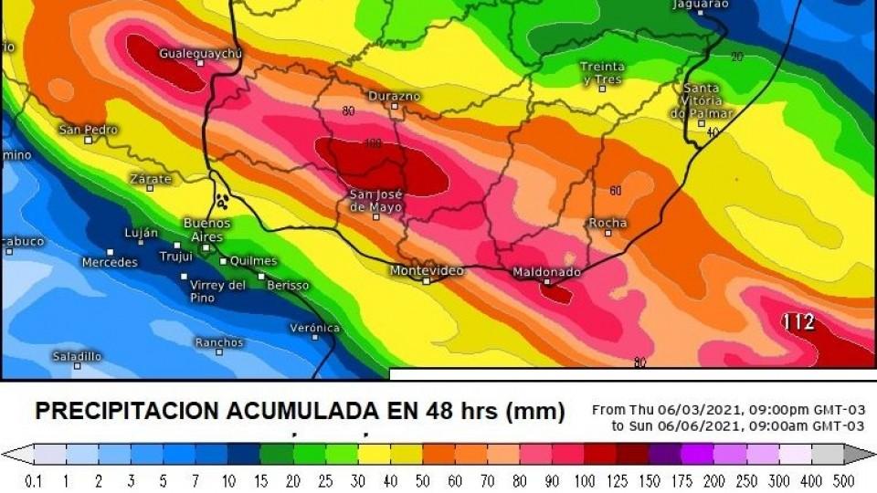 M. Bidegain: ''En la transición de una estación a la otra pueden darse estos fenómenos'' —  Clima — Dinámica Rural   El Espectador 810