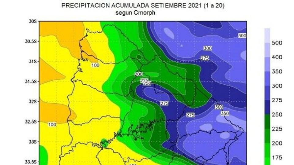 Arroz: En la cuenca este llovió más de 300mm en lo que va de setiembre —  Clima — Dinámica Rural   El Espectador 810