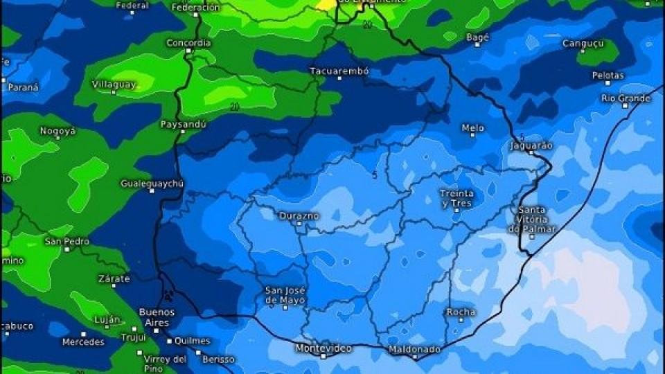 M. Bidegain: ''El inicio de octubre podría tener lluvias escasas'' —  Clima — Dinámica Rural | El Espectador 810