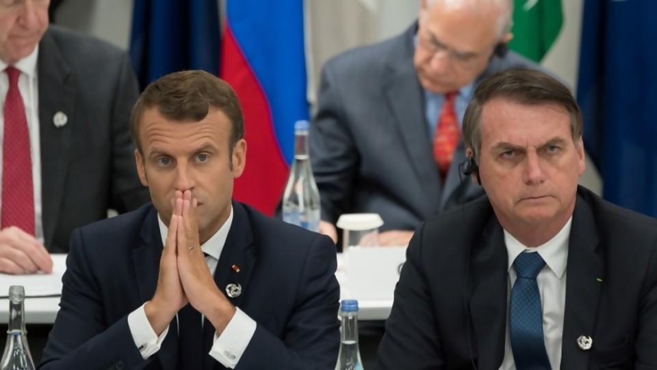 Darwin y el enfrentamiento Macron Bolsonaro —  Columna de Darwin — No Toquen Nada | El Espectador 810