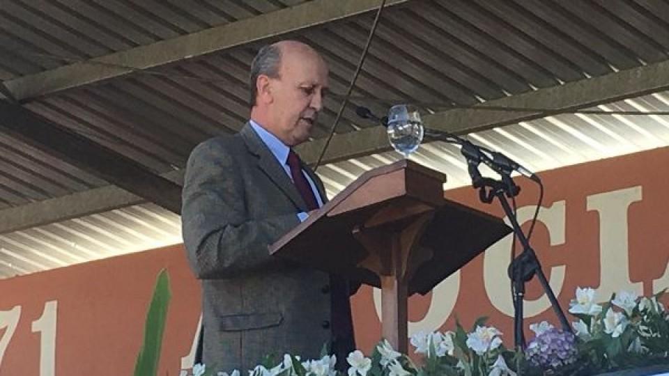 En el acto de clausura de Expo Prado, Capurro alertó sobre los problemas del sector, además de reconocer los aciertos del Gobierno —  Economía — Dinámica Rural | El Espectador 810