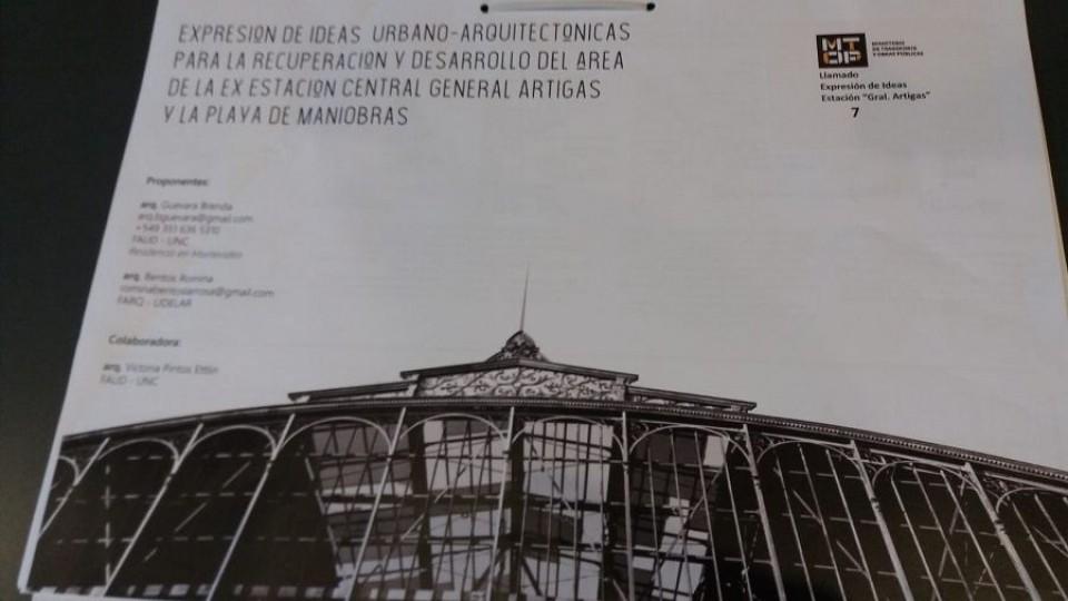 Se expondrán 11 propuestas sobre el destino del viejo edificio de la Estación Central General Artigas —  Qué tiene la tarde — Más Temprano Que Tarde   El Espectador 810