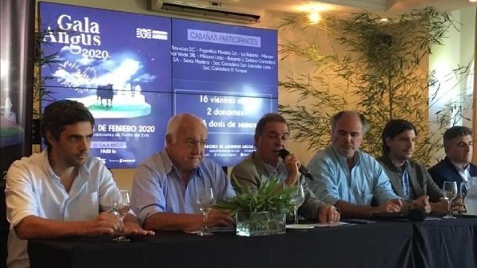 Gala Angus 'impone su genética de élite en la ganadería uruguaya' —  Ganadería — Dinámica Rural | El Espectador 810