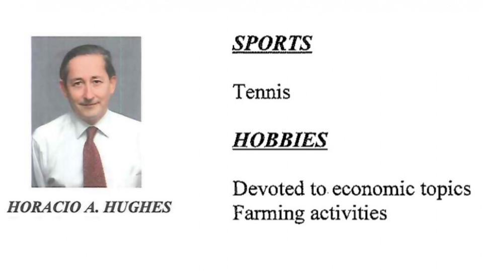BPS: futuro presidente mandó CV en inglés donde dice que juega al tenis —  Departamento de Periodismo de Opinión — No Toquen Nada   El Espectador 810