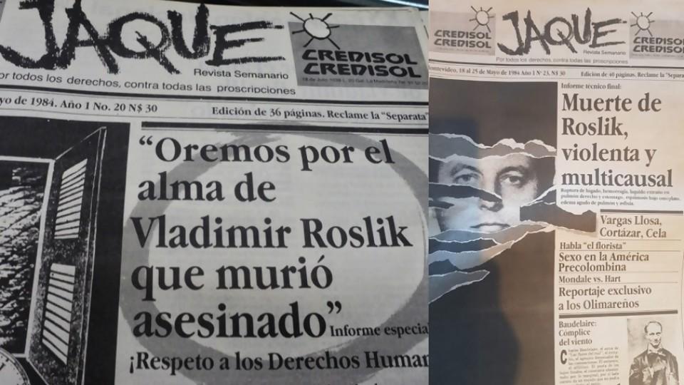 El caso Roslik y una investigación periodística que hizo historia —  La Entrevista — Más Temprano Que Tarde | El Espectador 810