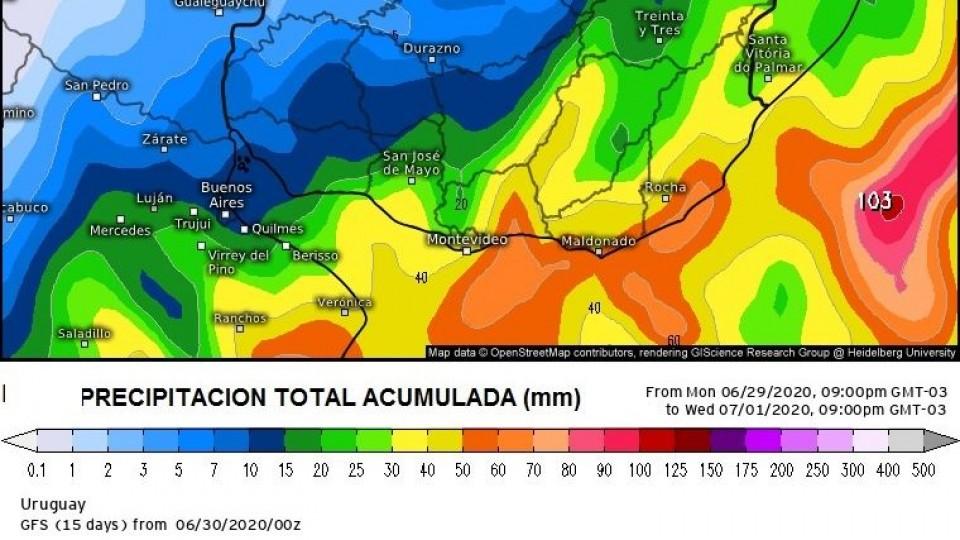 M. Bidegain: 'Es esperable una ventana de siete días sin lluvias' —  Audios — Dinámica Rural | El Espectador 810