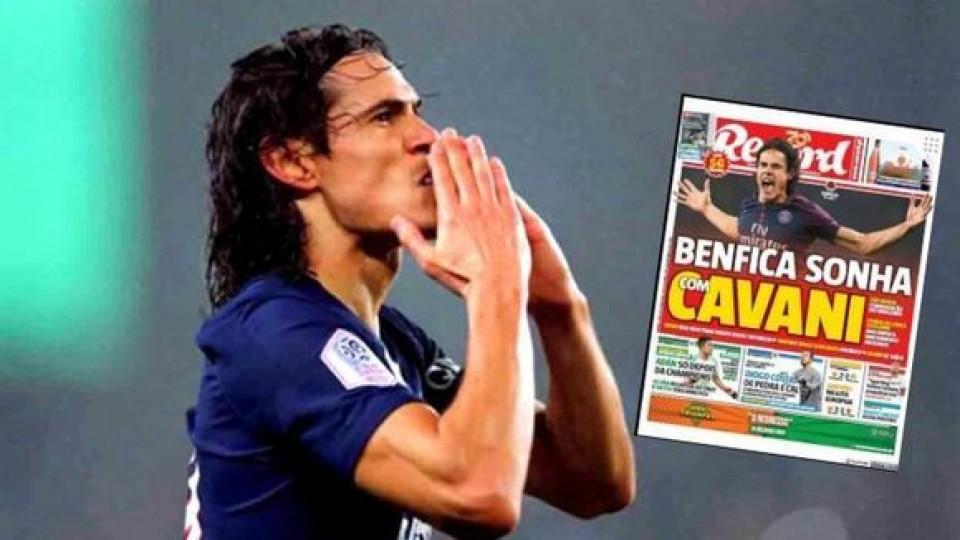 Benfica sueña con Cavani  —  Deportes — Primera Mañana   El Espectador 810