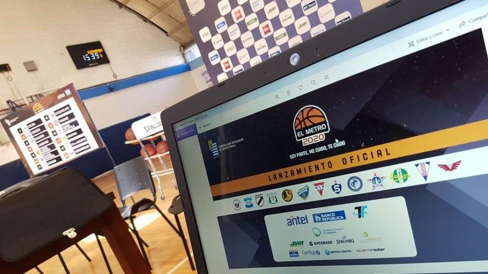 Vuelve el básquetbol y se juega El Metro —  Deportes — Primera Mañana   El Espectador 810