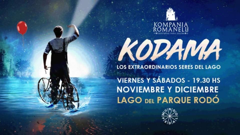 Kodama: llega el teatro negro al lago del Parque Rodó —  Entrada libre — Más Temprano Que Tarde | El Espectador 810