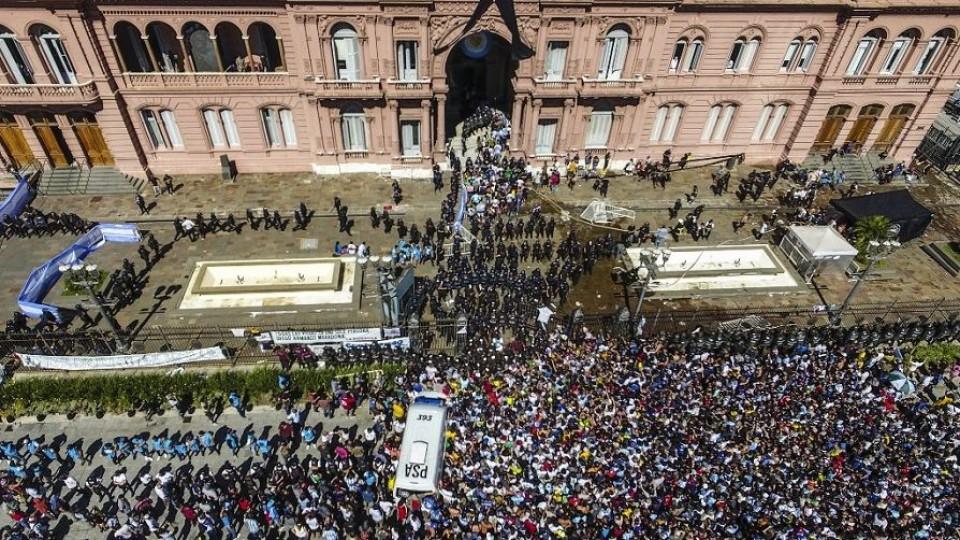 La despedida de Maradona: un desquicio en muchos sentidos —  Claudio Fantini — Primera Mañana   El Espectador 810